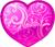 Purple heart 50px by EXOstock