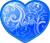 Blue heart 50px by EXOstock