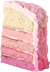 Pink cake 70px by EXOstock