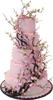 Pink Sakura cake 100px by EXOstock