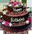 Happy Birthday cake 10 50px by EXOstock