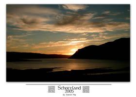 Schottland 05 - Sunset by MrsMorzarella