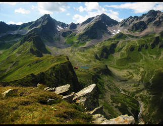 The Alps X by Regadenzia