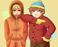 [South Park] (Former) Best Friends by LiaLyester