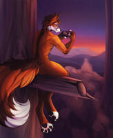 NightFox by MelsHartwell