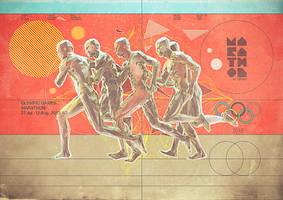 Olympic Games 2012 - Marathon by Giampaolo-Miraglia