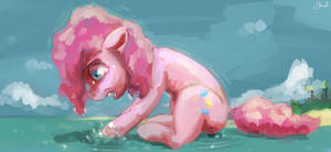 Pinkie Panic by sharpieboss