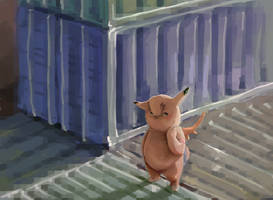 Clefable by sharpieboss
