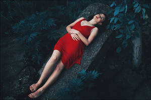 Red blooded woman by iNeedChemicalX
