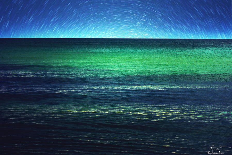 A Blanket of Stars and Sea by iNeedChemicalX
