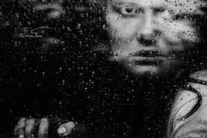 Monochrome Rain by iNeedChemicalX