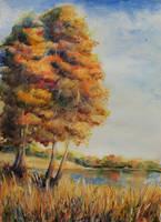 Golden Autumn by NataliSpalette