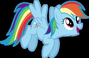 Rainbow Dash by BlueSnowfire
