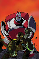 Transformers Animated 3 Cover by TheBoo