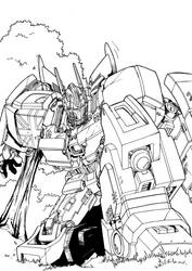 IDW OptimusPrime by TheBoo