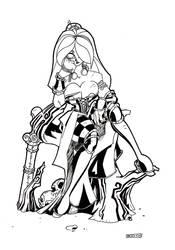 Big Boudicea Celtic Queen by TheBoo