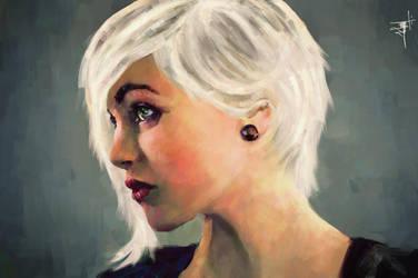 Portrait of Devon Jade by flyashy