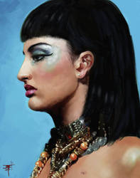 Cleopatra got the news... by flyashy