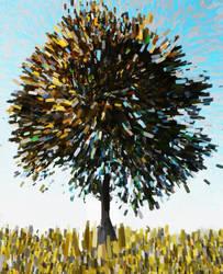 Zen Tree by flyashy
