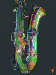 Sax by flyashy