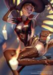 Witch Mercy by zumidraws