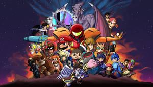 Smash Bros Infinity War: Version A by JinchuurikiHunter