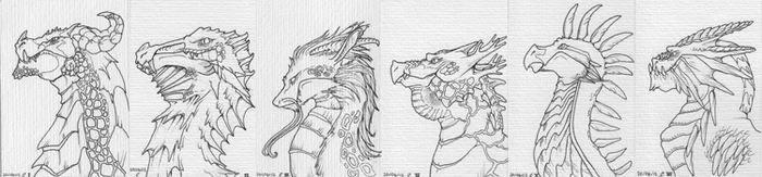 Dragon Card Set - WIP by DhTier
