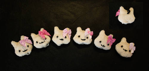 Little Cat Plushie Charms by DhTier