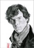 Sherlock (Benedict Cumberbatch) by ElliCrown