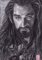 Thorin Oakenshield (Richard Armitage) by ElliCrown