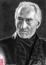 Tywin Lannister (Charles Dance) by ElliCrown