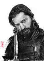 Jaime Lannister (Nikolaj Coster-Waldau) by ElliCrown