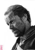 Jorah Mormont (Iain Glen) by ElliCrown