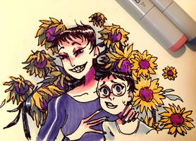sunflowers by naydeity