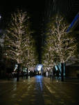 Akihabara Christmas Lights by c-r-o-f-t