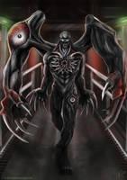 Resident Evil 2 - G - William Birkin - Third Form by c-r-o-f-t