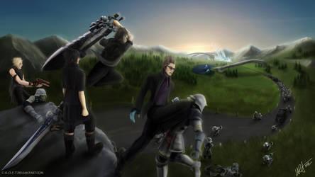 Final Fantasy XV by c-r-o-f-t