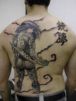 Gunnm Tattoo by InfectedGuili