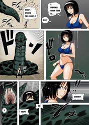 Snake Vore: Naruto To Tekken by zetaxinn