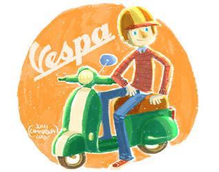 Vespa 2 by JuanCaminador