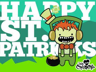 Happy St. Patricks Day! by CreeperNation