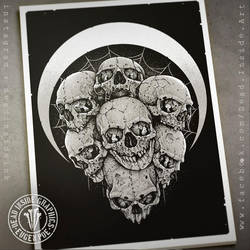Seven Skulls by DeadInsideGraphics