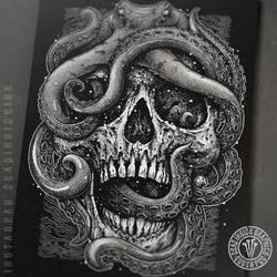 Octopus skull by DeadInsideGraphics