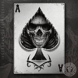 Spade Reaper by DeadInsideGraphics