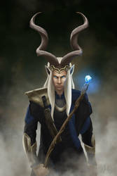 Wizard Prince of the Kudus by deannaque