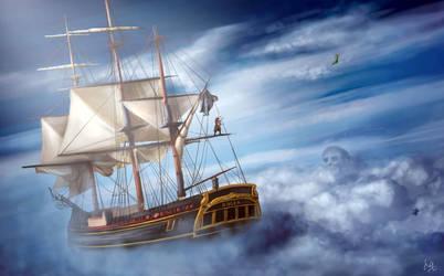 The Jolly Roger by deannaque