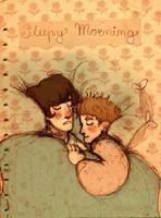 sleepy morning by s-u-w-i