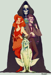 the four horsemen by s-u-w-i