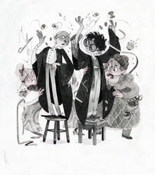 Madam Malkin's Robes for All Occasions by s-u-w-i