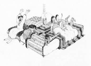bedside table by s-u-w-i